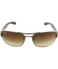 RayBan RB3522 61 Gunmetal Matte 029-13 Sunglasses