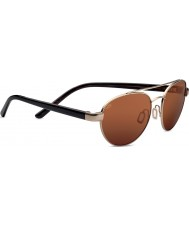 Serengeti Mondello Satin Gold Drivers Sunglasses