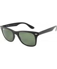 RayBan RB4195 52 Wayfarer Liteforce Matte Black 601S9A Polarized Sunglasses