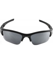 Oakley 03-915 Flak Jacket XLJ Jet Black - Black Iridium Sunglasses