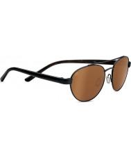 Serengeti Mondello Satin Black Polarized Drivers Sunglasses