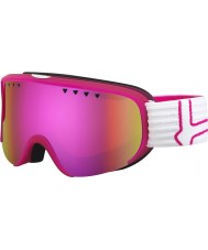 Bolle 21477 Scarlett Matte Pink and White - Rose Gold Ski Goggles