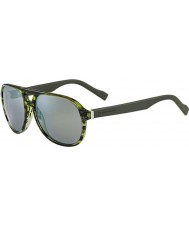 BOSS Orange Mens BO 0144-S 6SG QU Green Sunglasses