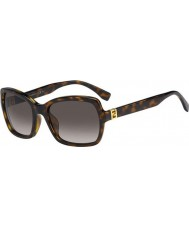 Fendi Fendista FF 0007-S EDJ HA Tortoiseshell  Sunglasses