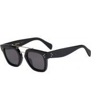 Celine Ladies CL 41077-S 807 BN Black Sunglasses