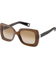 Marc Jacobs Ladies MJ 486-S 8JQ 81 Brown Sunglasses
