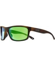 Revo RE4071 Harness Dark Tortoiseshell - Green Water Polarized Sunglasses