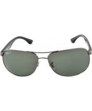 RayBan RB3502 61 Highstreet Gunmetal 004-58 Polarized Sunglasses