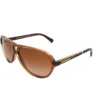 Michael Kors MK6008 60 Wainscott Milky Brown Snake 301113 Sunglasses