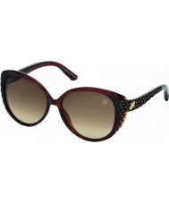 Swarovski Ladies Brown SK0068 Dana Sunglasses