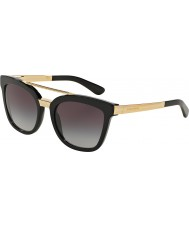 Dolce and Gabbana DG4269 54 Black 501-8G Sunglasses
