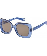 Marc Jacobs Ladies MJ 486-S 8K3 CO Blue Sunglasses