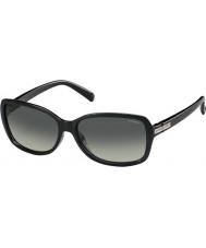 Polaroid Ladies PLD5012-S D28 LB Shiny Black Polarized Sunglasses