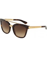 Dolce and Gabbana DG4269 54 Havana 502-13 Sunglasses