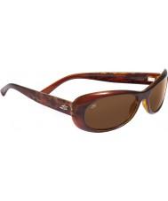 Serengeti Bella Shiny Bubble Tortoiseshell Polarized Drivers Sunglasses