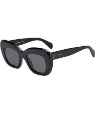 Celine Ladies CL 41432-S 807 IR Black Sunglasses