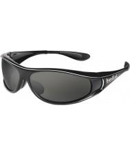 Bolle Spiral Shiny Black Polarized TNS Sunglasses