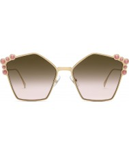 Fendi Ladies FF0261 S 0 53 57 Can Eye Sunglasses