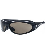 Bolle Spiral Shiny Black TNS Sunglasses