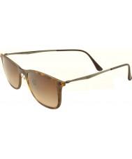 RayBan RB4225 52 New Wayfarer Light Ray Matte Havana 894-13 Sunglasses