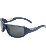 Bolle Smart Matt Blue Polarized TNS Gun Sunglasses