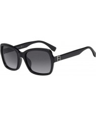 Fendi Fendista FF 0007-S D28 HD Black Sunglasses