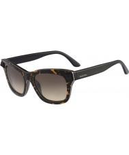 Valentino Ladies V670SS Tortoiseshell and Black Sunglasses