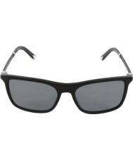 Dolce and Gabbana DG4242 56 Basalto Collection Black 501-811 Polarized Sunglasses