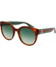 Gucci Ladies GG0035S 003 Sunglasses