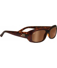 Serengeti Bianca Dark Tortoiseshell Polarized Drivers Sunglasses
