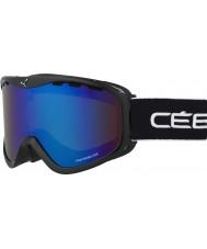 Cebe CBG108 Ridge OTG Black Yellow - Brown Flash Blue Ski Goggles