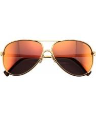 Wildfox Ladies Airfox 2 Deluxe Gold Sunglasses
