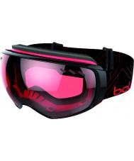 Bolle 21159 Virtuose Black and Red - Vermillon and Lemon Gun Ski Goggles