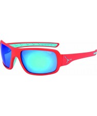 Cebe Changpa Matt Pink 1500 Grey Flash Mirror Blue Sunglasses