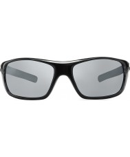 Revo RE4073 Guide II Navy Woodgrain - Graphite Polarized Sunglasses