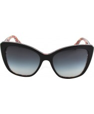 Dolce and Gabbana DG4216 55 Top Black On Mosaic 27898G Sunglasses