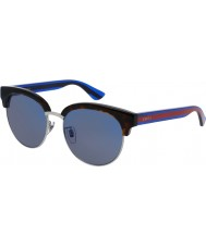 Sunglasses2u Gucci Mens GG0058SK 004 Sunglasses