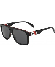 Cebe Chicago Black Red 1500 Grey Flash Mirror Sunglasses