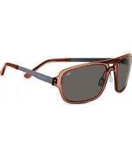 Serengeti Nunzio Crystal Dark Brown Polarized PhD CPG Sunglasses