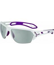 Cebe CBSTL14 S-Track L White Sunglasses