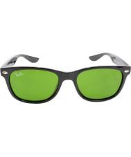 RayBan Junior RJ9052S 47 New Wayfarer Shiny Black 100-2 Sunglasses