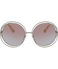 Chloe Ladies CE114ST 724 58 Carlina Sunglasses