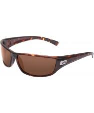 Bolle Python Dark Tortoiseshell Polarized Sandstone Sunglasses