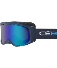 Cebe CBG113 Cheeky OTG Blue and Cyan - Brown Flash Blue Ski Goggles