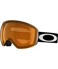 Oakley 59-711 Flight Deck Matte White - Persimmon Ski Goggles