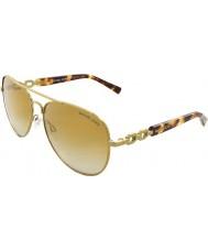Michael Kors MK1003 58 Fiji Gold 10046E Sunglasses