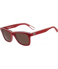 Lacoste L781S White Red Sunglasses