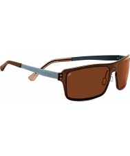 Serengeti Duccio Crystal Brown Polarized PhD Drivers Sunglasses