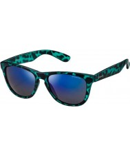 Polaroid P8443 46X K7 Blue Turquoise Polarized Sunglasses