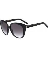 Sunglasses2u Chloe Ladies CE648S Black Sunglasses
